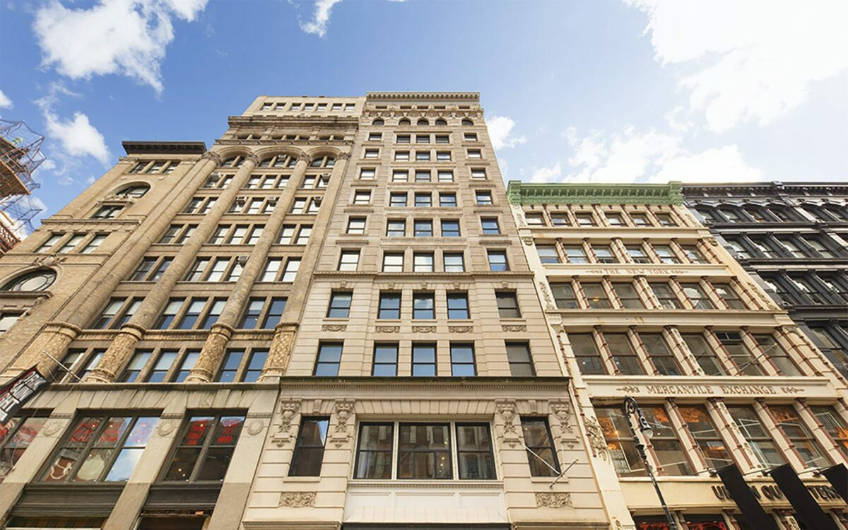 Building in NYC restored by Renaissance Properties