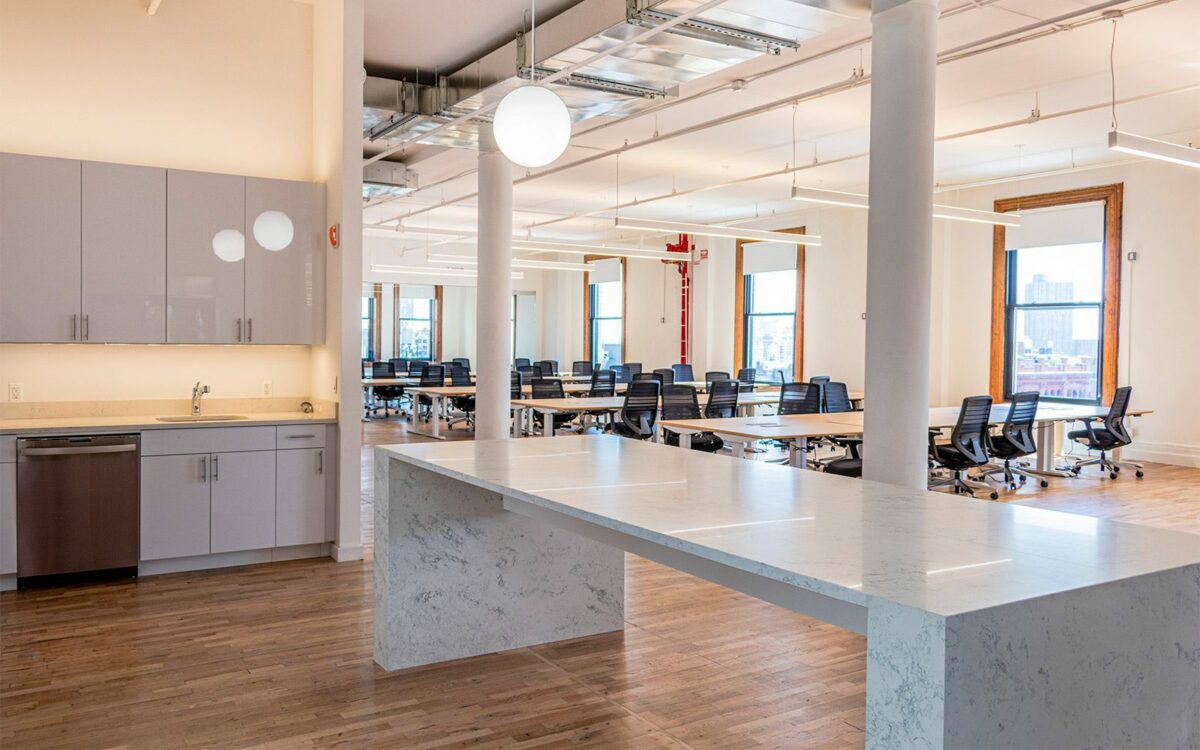 An office space located at 166 Crosby St. New York, New York