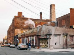 A distressed commercial property