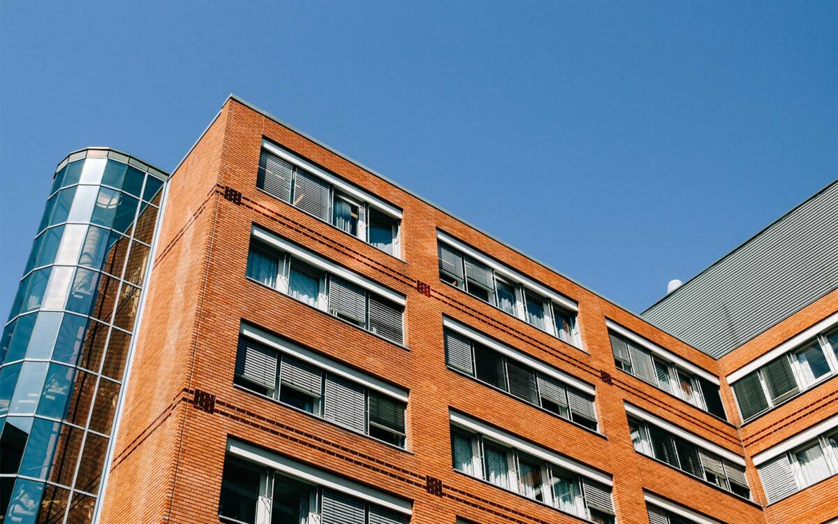 A commercial rental property